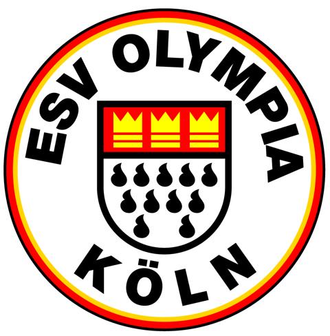 Das Logo des ESV Olympia Köln