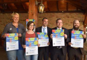 Bild aus der Pressekonferenz zum Projekt TALENTS Bedburg am 12. Mai 2017